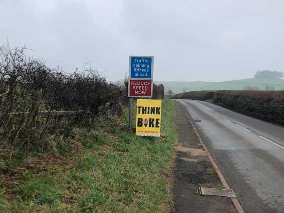 Devon SSUP roadside signage