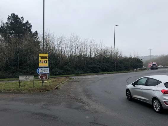 Devon SSUP roadside signage second version