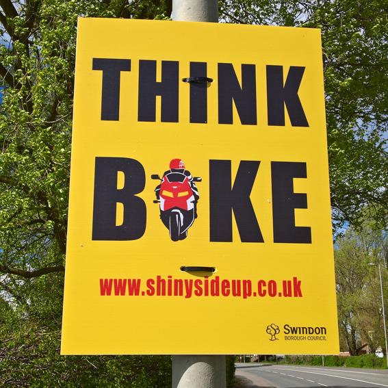 Swindon SSUP roadside signage